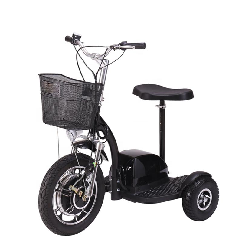 500 watt 48 v Erwachsene Elektrische Dreirad mit große front rad