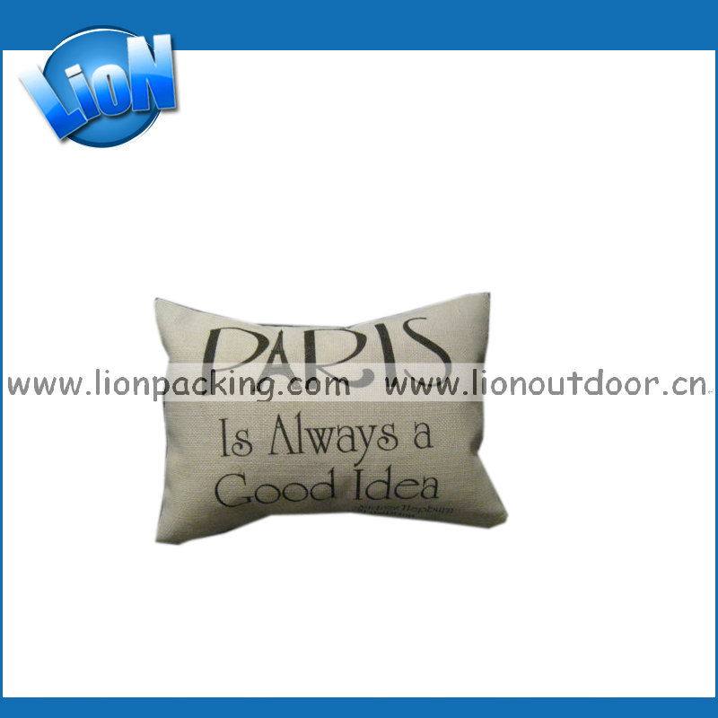 Jute Look Print Cushion Cover, Ocean Series Printing Throw Pillow Covers for Sofa Home Decor Pillow Case Cover