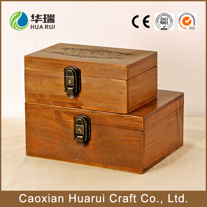 Bottom price customized lacquer wooden gift box wood presentation boxes