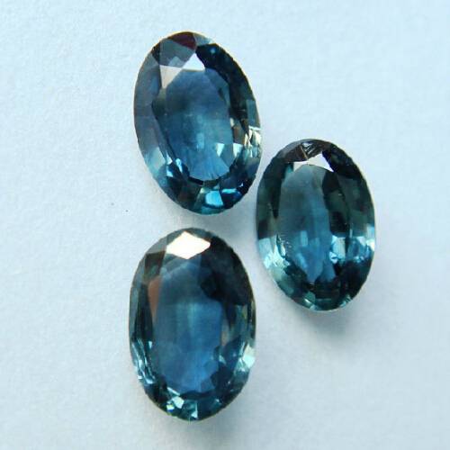 4*6mm natural gemstone burma blue sapphire