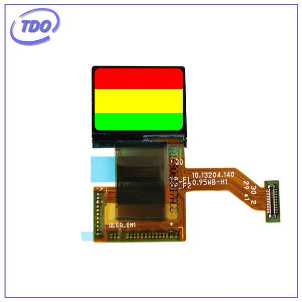 micro oled module 0.95 inch SPI Small OLED display with flexible FPC