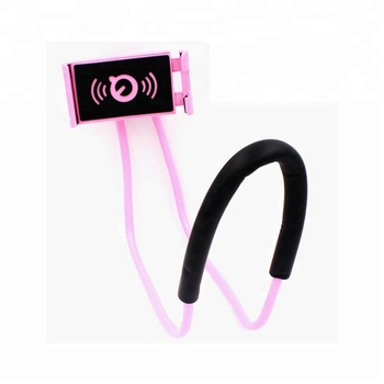 lazy neck wrist mobile phone holder
