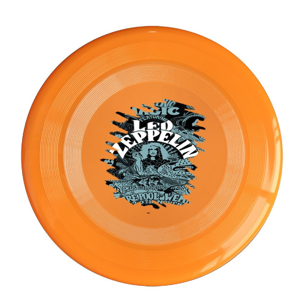 YFF Led Winter Tour Zeppelin 150 Gram Ultimate Sport Disc Frisbee Yellow