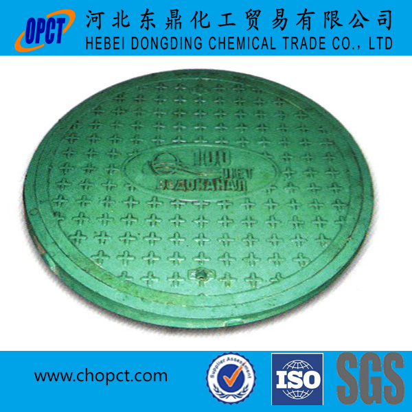 EN 124 D400 fiberglass sewer cover