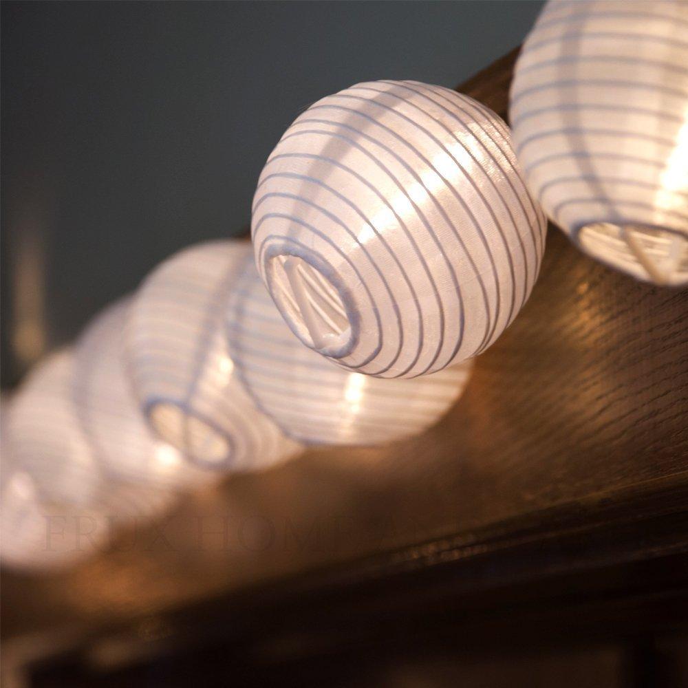 Get Quotations E Joy Lantern Solar String Lights Globe Outdoor