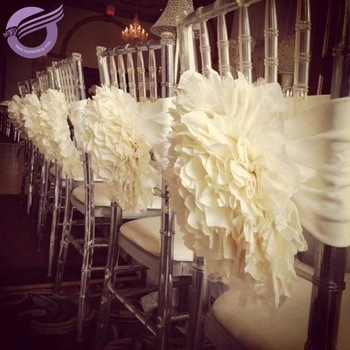 Admirable Fq00058 Weddings Decoration Flower Chair Covers For Plastic Chiavari Chairs Buy Chair Covers Wedding Decoration Chiavari Chair Covers For Machost Co Dining Chair Design Ideas Machostcouk
