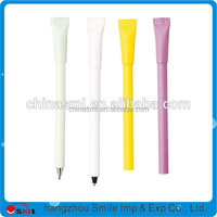 promotional craft paper cover eco notepad pen with elastic band