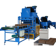 FL4-10 ghana auto compressed earth cement brick molding machine