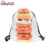 Factory wholesale ice cream pattern service drawstring backpack school backpacks for women
