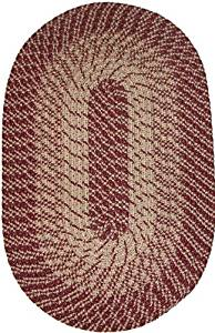 "Plymouth 22"" x 108"" (Runner) Braided Rug in Wine"