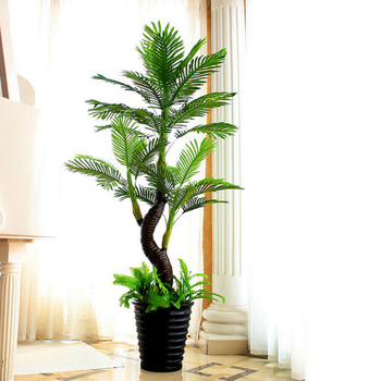 Artificial China Bonsai Palm Tree Makes An Unusual Gift Or Houseplant