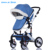 beautiful stroller with velvet china pram for winter suitable for cold area