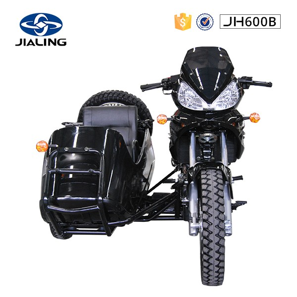 JH600B JIALING brand 600cc motorcycle with sidercar for sale