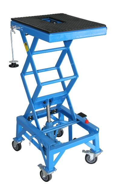 Scissor Lift Table Small Lbs Hydraulic Motorcycle Movable Platform