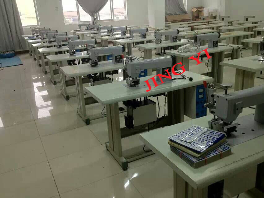 Nylon and Polyester Ultrasonic Lace Sewing & Cutting Machine