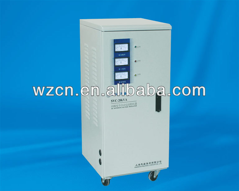 Avr Type Ac Voltage Stabilizer 20kva 20kw Automatic Ac Home ...