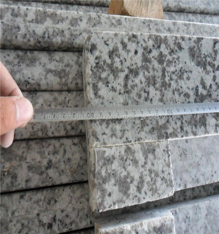 chino de baldosas para paredes exteriores gris granito