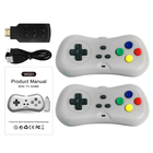 YLW 2.4G Wireless Gamepad with 200 Games Retro Mini Handheld Game Console For video Games