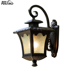 waterproof decorative outdoor wall lantern exterior wall light