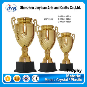 hot sale customized logo big cup trophies giant bowl shape trophy