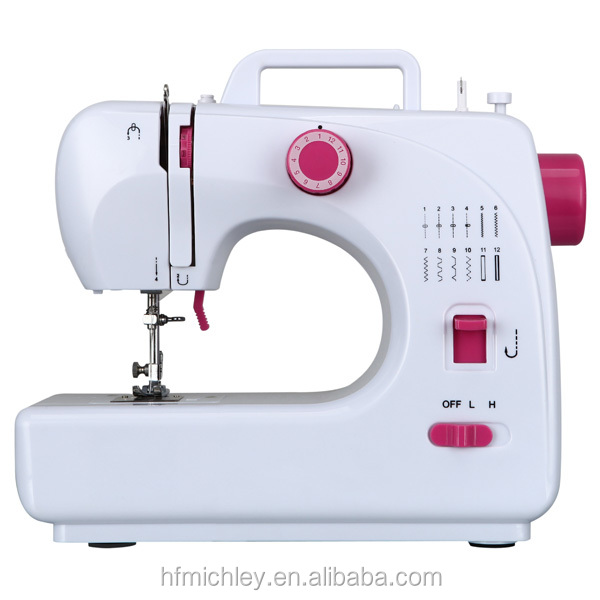 durable easy use fashion design sewing machine as gift for wife FHSM-508