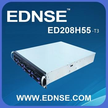 2u Ednse Ed208h55-t3 2u 8 Bays Sata/mini-sas Easily Assamble Rack ...