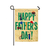 Happy Father's Day festival celebration garden flag