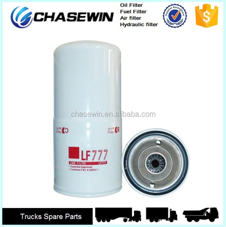 glacier centrifugal oil filter lf777 for diesel engine generator