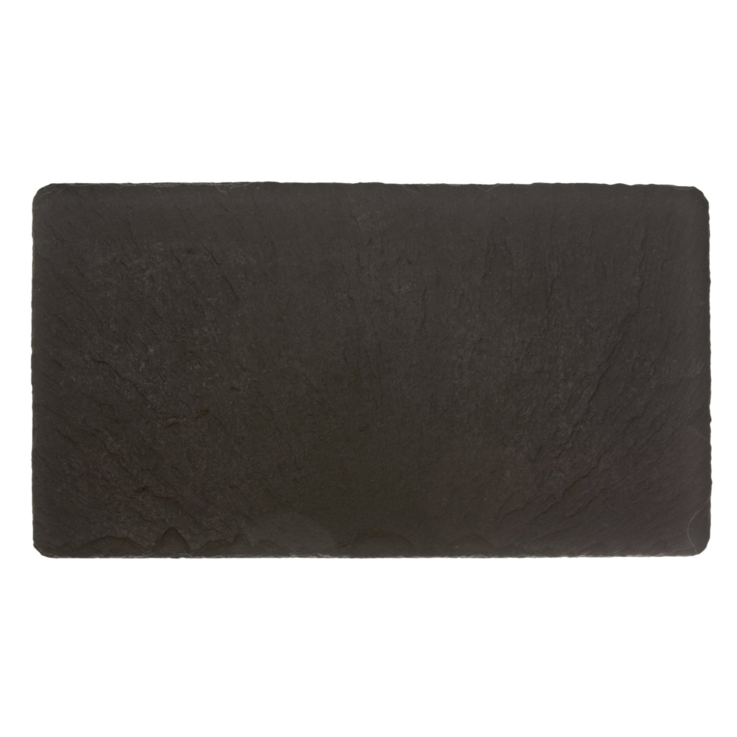 The Just Slate Company Natural Slate Table Runner, 19.5 x 9.75-Inch