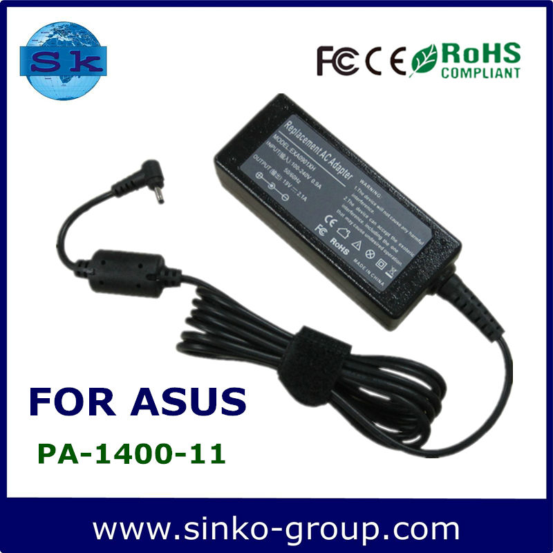 Power charger for Asus 19v 2.1a 40w adapter Eee Pc Series charger