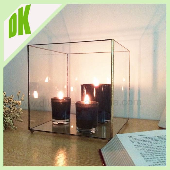 Top 1 Supplier Cubist Design In Geometric Glass Terrarium