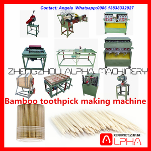 high quality bamboo toothpick making machine price/bamboo toothpick production line