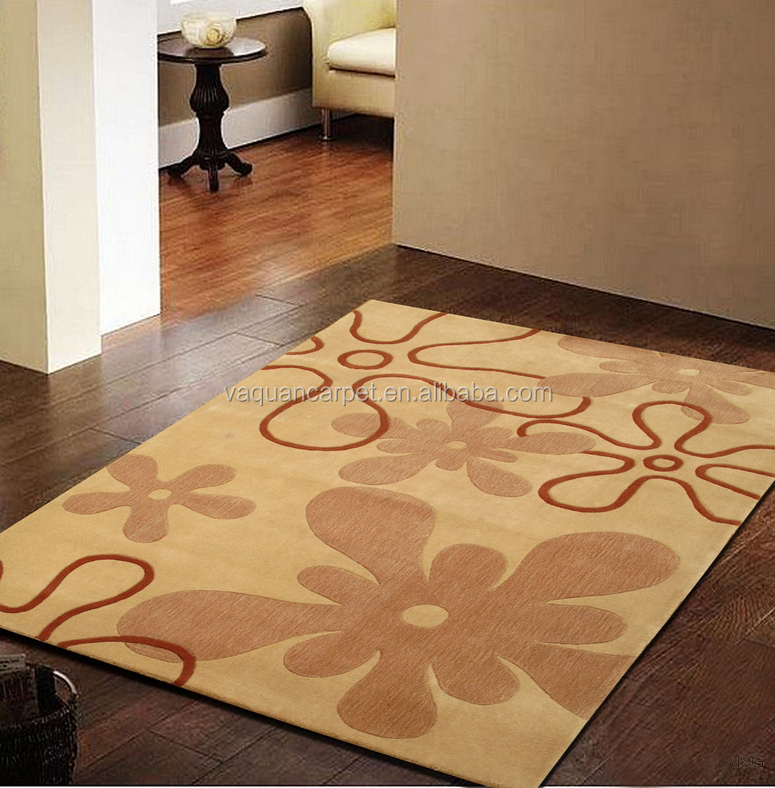 Custom Size Hand Tufted Wool Carpets Living Room Area Rug / Classic Custom design Wool Carpet