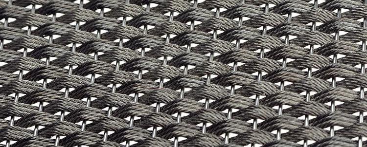 Alibaba China Architecture Decorative Flexible Metal Mesh Netting ...