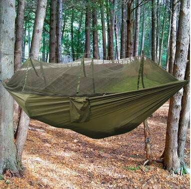 Hot Sale Army Green Hanging Sleeping Hammock Tree Tent Travel Mosquito Net Hammock & Hot Sale Army Green Hanging Sleeping Hammock Tree Tent Travel ...