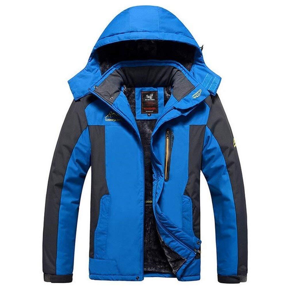 dcd2e79d881 Get Quotations · Always Pretty Men s Plus Size Ski Snow Climbing Hiking  Warm Coat Outdoor Sports Jacket