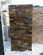 Natural thin slate ledger stone veneer panel lowes
