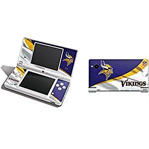NFL Minnesota Vikings DSi Skin - Minnesota Vikings Vinyl Decal Skin For Your DSi