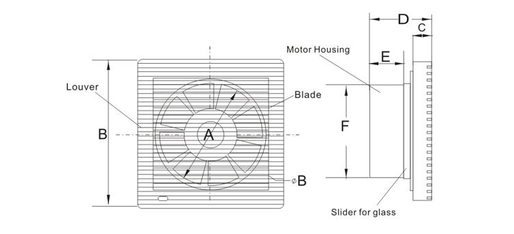 Ventilazione Forzata Bagno( Khg15- S) - Buy Product on Alibaba.com