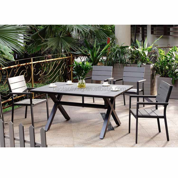Muebles de Jardín marco Cruz Polywood juego de mesa de comedor ...