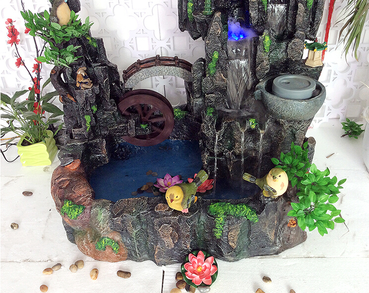 Factory hot sale garden fountain indoor artificial waterfall fountain for  landscape decorative mini water fountain