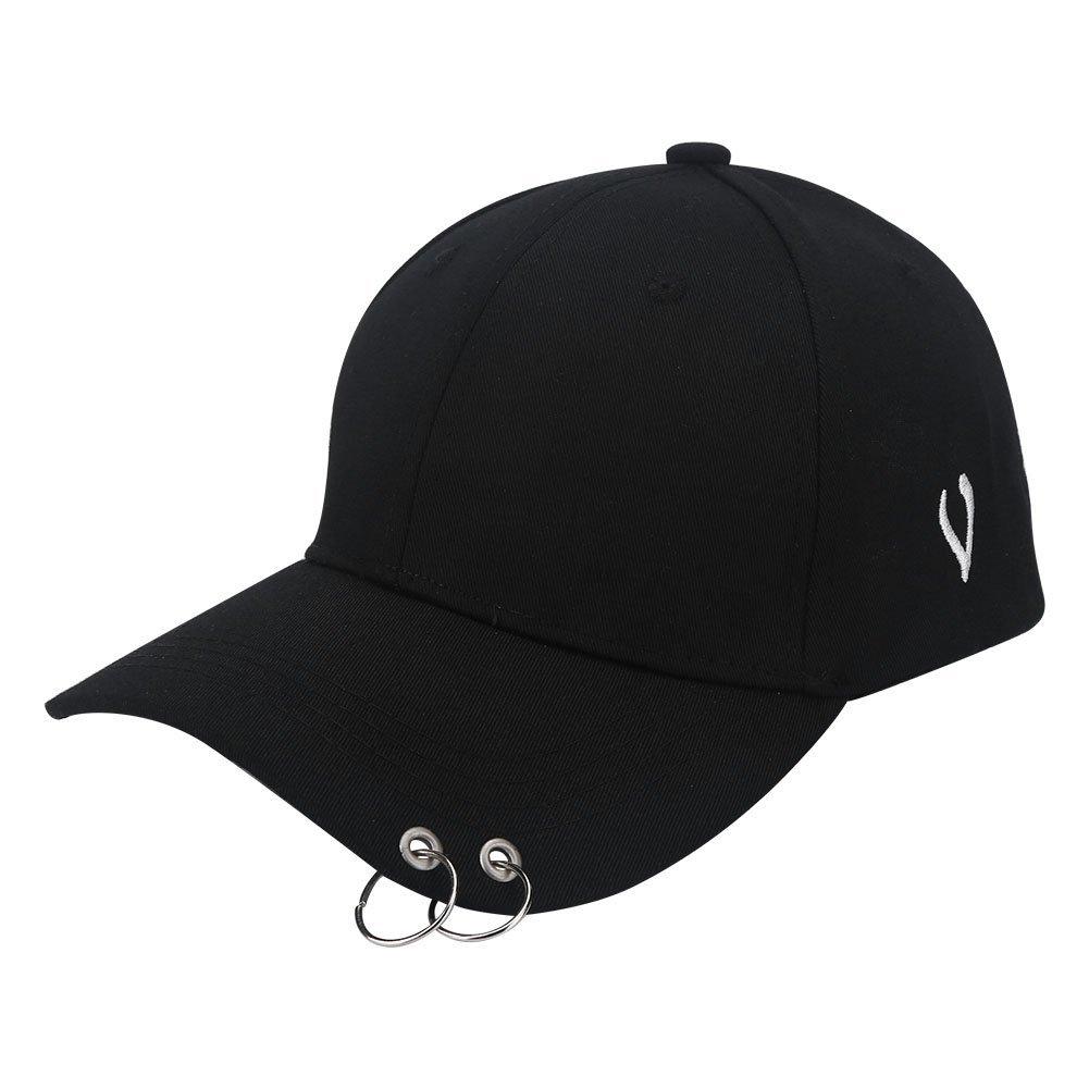 4e82a5d3c37 Ring Baseball Cap Hat - Cotton Metal Rings Hip Hop Hat Fashion Cap Baseball  Snapback Hat