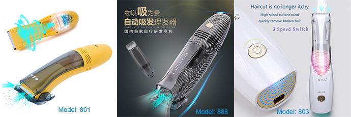Vacuüm pet hair trimmer oorhaar trimmer geen batterijen nodig 803
