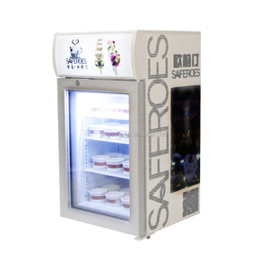 42 liters glass door refrigerator with OEM logo