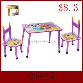 DT 25 Height Adjustable Kids Table And Chair Set