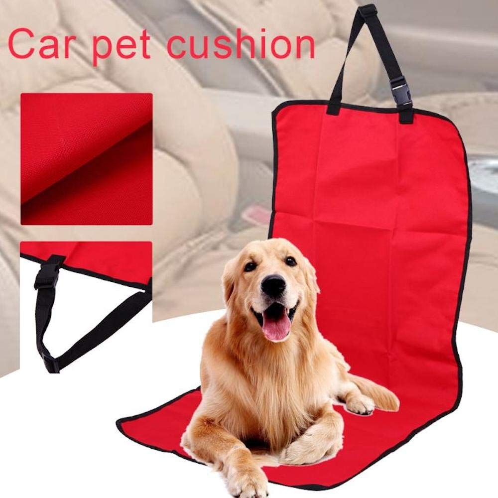 1 piece / Waterproof Dog Car Seat Cover Non Slip Front Seat Mat Blanket Pet Car Travel Accessories Dog Carriers for Car Truck SUV