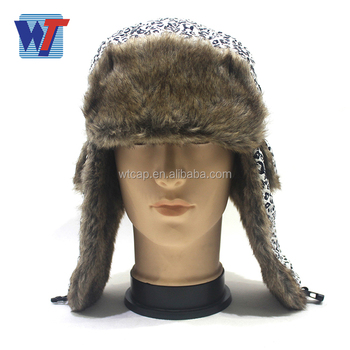 Winter Fur Russian Hat With Earflap For Men And Women - Buy ... 2efacc7ccdf