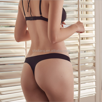 8cf88c95ebad Cheap Price Seamless Thongs And G Strings Solid Sexy Briefs Slim Women  Panties And Underwear