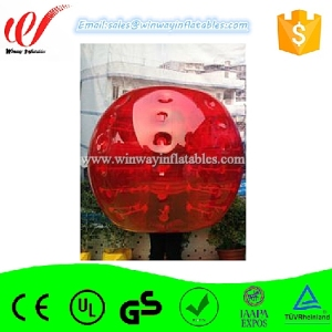 Interesting bumper bubble football, inflatable body zorb ball,bubble suits with good price BW7243