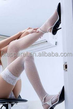 dc25d6247 Hold Up White Lace Top Fishnet Stockings Wholesale Hosiery - Buy ...